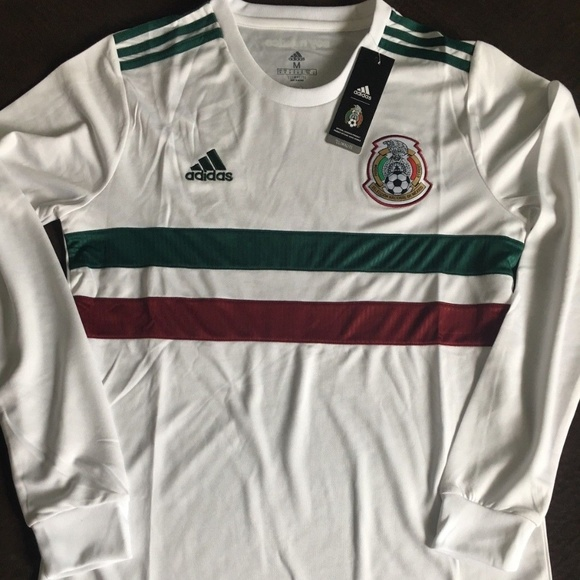 2f372116d adidas Men s Mexico 18 19 Away Long Sleeve Jersey